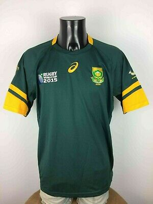 SOUTH AFRICA Jersey Maillot Asics Springboks SA Rugby World Cup 2015 1995 2007