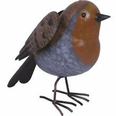 Supa Decor Metal Robin 25.5cm SO657