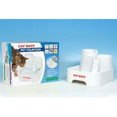 Pet Mate Cat Mate Pet Fountain sgl 335