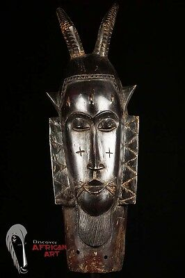 Discover African Art Guro Mask from Ivory Coast