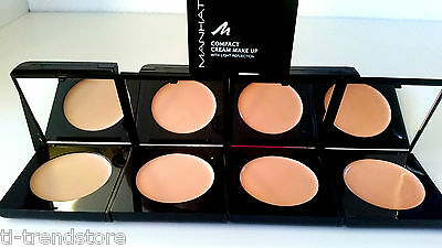 5,49€/10g Manhattan Compact Cream Make Up mit Licht Reflection ver. Farben 10g