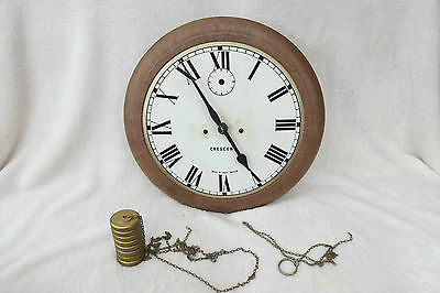 Vintage Crescent (Toys) Weight Driven Wall Clock For Repair