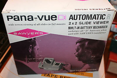Sawyer's Pana-Vue Automatic R 2 X 2 Slide Viewer Vintage in Box