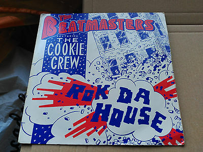 7'' The Beatmasters Feat. The Cookie Crew - Rok Da House - Uk 1987 Vg+