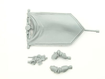 Forgeworld - Space Marine MKIII Command Set - Banner + Arme + Boltpistole BITS