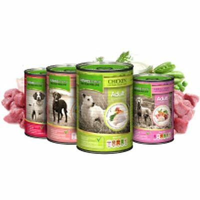 12x Natures Menu Multi-Pack Dog Cans 400g NMCMUL