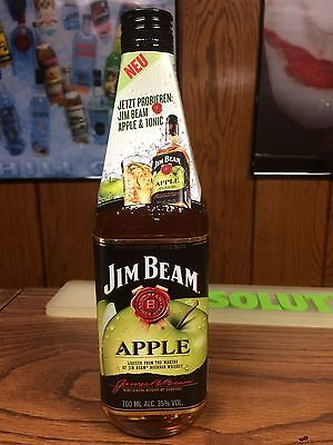 Jim Beam 700Ml Apple With First Release Tag -No Fire Devils Cut Red Stag Black