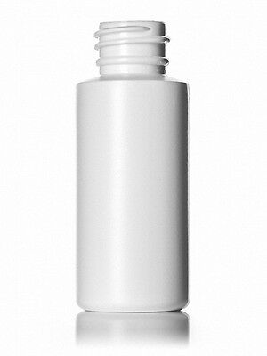 1 oz (30 ml) HDPE Plastic Bottles w/Yorker Dispensing Caps (Lot of 100)
