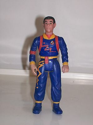 The Original Real Ghostbusters Action Figure Toy Winston Zeddmore 1984 Very Good