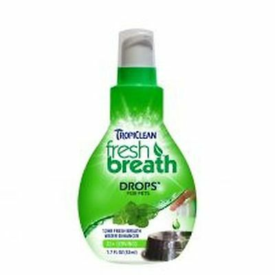 Tropiclean Fresh Breath Drops 65ml 13034