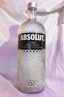 Limited Edition ABSOLUT VODKA Collectible - Empty GLIMMER 1.75ml