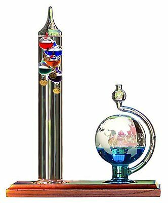 Acurite Therm Galileo 11 Inch Thermometer with Globe Ball Barometer  00795A2
