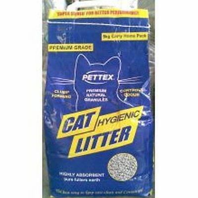 4x Pettex Clump Fullers Earth Cat Litter  5kg 9