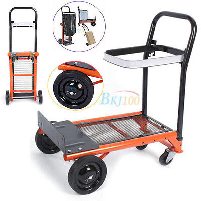 Stair Climber Hand Truck Dolly Heavy Duty Foldable Platform Hand Truck Cart New