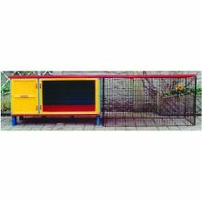 Pennine Welcome Home Hutch Flat Packed With Legs 91x39x50cm 2871.
