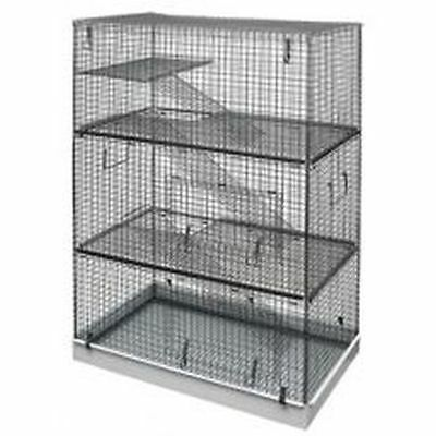 Lazy Bones Wire Rodent Cage Triple Storey 70x42x104cm LBSA12