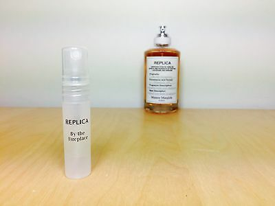 BY THE FIREPLACE - Maison Margiela replica - 5ml sample - 100% GENUINE