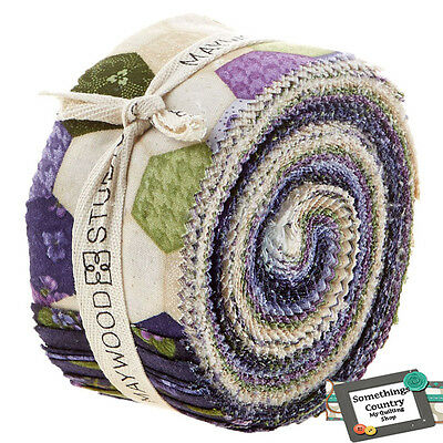 Quilting Jelly Roll Sewing ARABELLA Quilt 2.5 inch strip Country Floral Fabric
