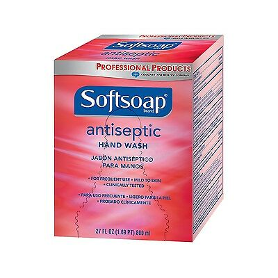 Softsoap 01930 Antiseptic Hand Wash 800 ml (Case of 12)