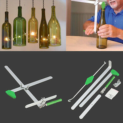 Glass Wine Bottle Cutter Cutting Machine Jar Kit Craft Machine Recycle Tools SG