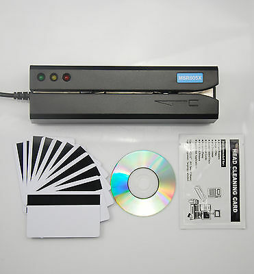 Magnetic Stripe Credit Card Reader Writer Encoder Swipe MSR605X MSR606