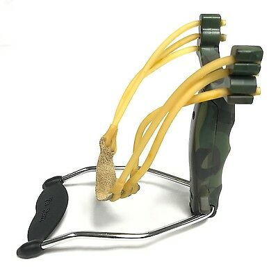 Green Camouflage Powerful Slingshots Slingshot Catapult Outdoor Fishing Hunting