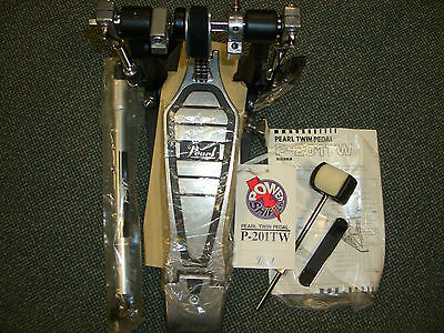 Pearl T201 BD Double Pedal Slave Unit ! NOS ! New Old Stock ! Neu ! OVP !