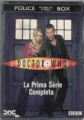 DOCTOR WHO. La prima serie completa in cofanetto. 4 DVD. Film ITALIANO PAL
