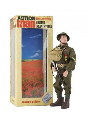 Action Man British Infantryman Limited Edition Only 2500 World Wide
