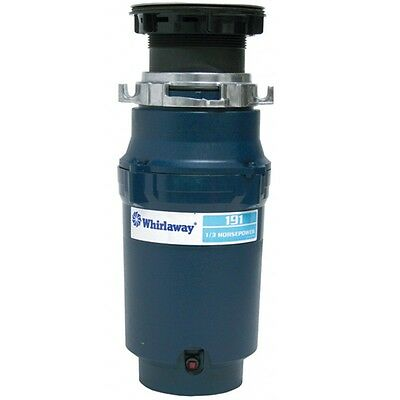 Premier 141195 191-pc Whirlaway Garbage Disposal with Plug- 1/3 hp NEW