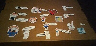 Lot of 27 Flat Family Guy Fridge Magnets Quotes and Characters