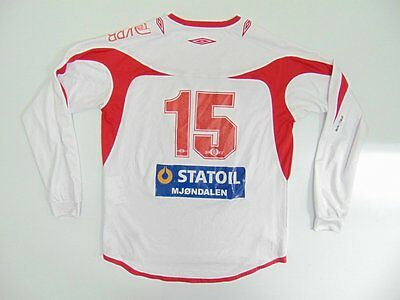 2000 2010 Umbro Steinberg IF Norway Norge away shirt jersey rare retro old #15