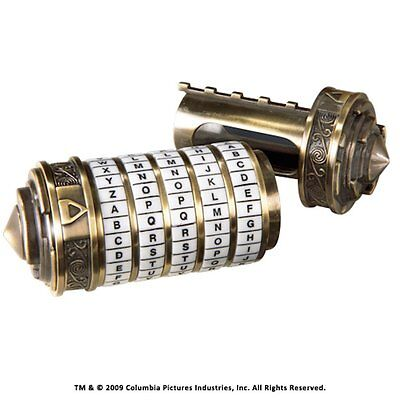 Mini Cryptex Da Vinci Code The Noble Collection Official Authorised Seller 5335