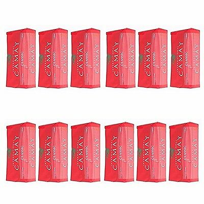 12 X 125G Camay Softly Scented Soap Bath Bar Classic Fragrance FREE POSTAGE