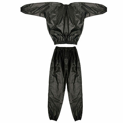 Sauna Sweat Suit Fitness Slimming Weight Loss Exercise Running Boxing Large