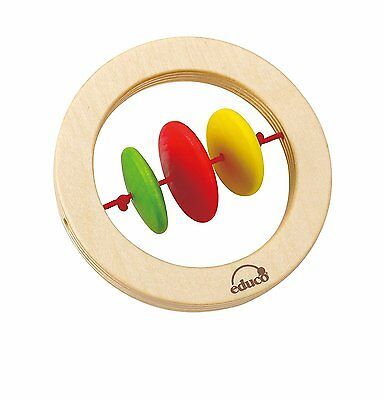 Hape - GrabHappy Ring Rattle ~ NEW WITH TAGS