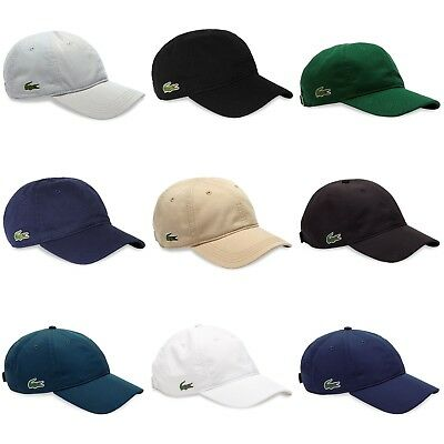 5bc043ca2a Lacoste Cap - Lacoste Cotton and Poly Cap - RK2447 - RK9811 - Black, Navy