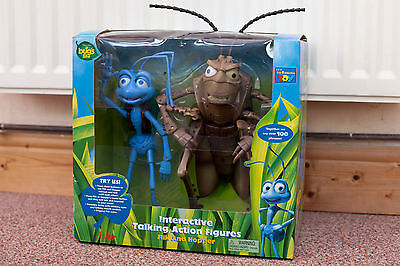 A Bug's Life - Interactive Talking Hopper and Flik (Boxed)