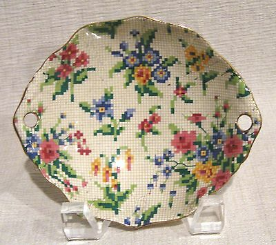 Royal Winton Queen Anne Chintz Oval Handled Dish