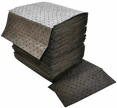 """Spilfyter DB-75 Gray Universal Sorbent MRO Double Weight Absorbent Pad 18"""" Le..."""