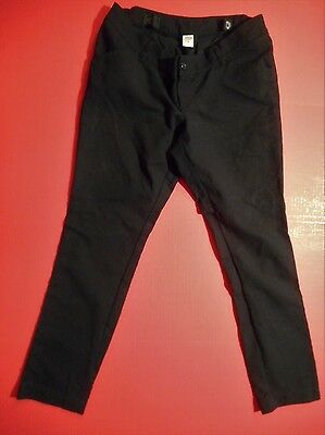 Old Navy Maternity Black Low Waist Dress Pants Slacks Skinny Size 8