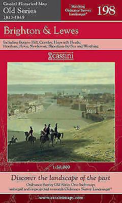 Brighton and Lewes (Cassini Old Series Historical Map), VARIOUS, New Book
