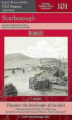 Scarborough (Cassini Old Series Historical Map), Cassini Publishing Ltd, New Boo