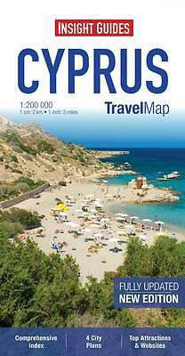 Insight Travel Map: Cyprus (Insight Travel Maps), , New Book