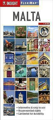 Insight Flexi Map: Malta (Insight Flexi Maps), Guides, Insight, New Book
