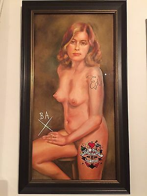 Butch Anthony, Stewed, Screwed & Tattooed Original Painting