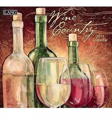 Lang 2017 Wine Country WALL CALENDAR, 13.375 x 24 inches (17991001885) WALL