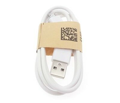 20X Lot Premium Micro USB Sync Charger Cable Cord for Smart Phone Android White