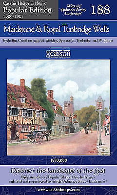 Maidstone and Royal Tunbridge Wells (Cassini Popular Edition Historical Map), ,