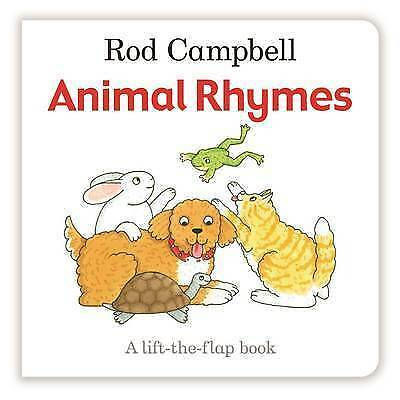 Animal Rhymes (Lift the Flap Book), Campbell, Rod, New Book